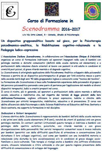 Corso Formazione Scenodramma 2016-2017
